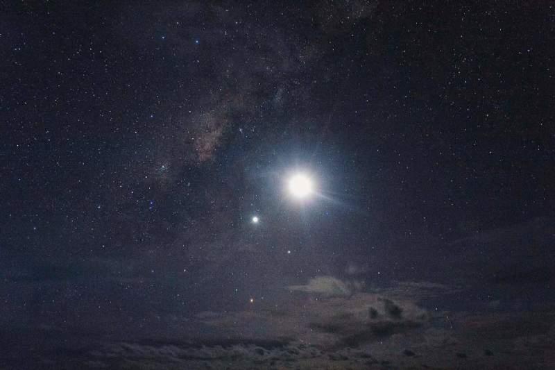 cielo luminoso